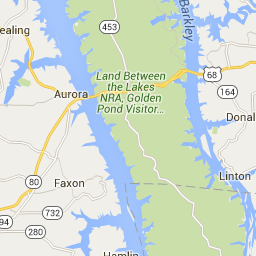 Kentucky Lakes Area Interactive Map Travel Kentucky Pinterest