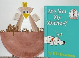 Kinder Craft Are You My Mother Seuss Crafts Book Crafts