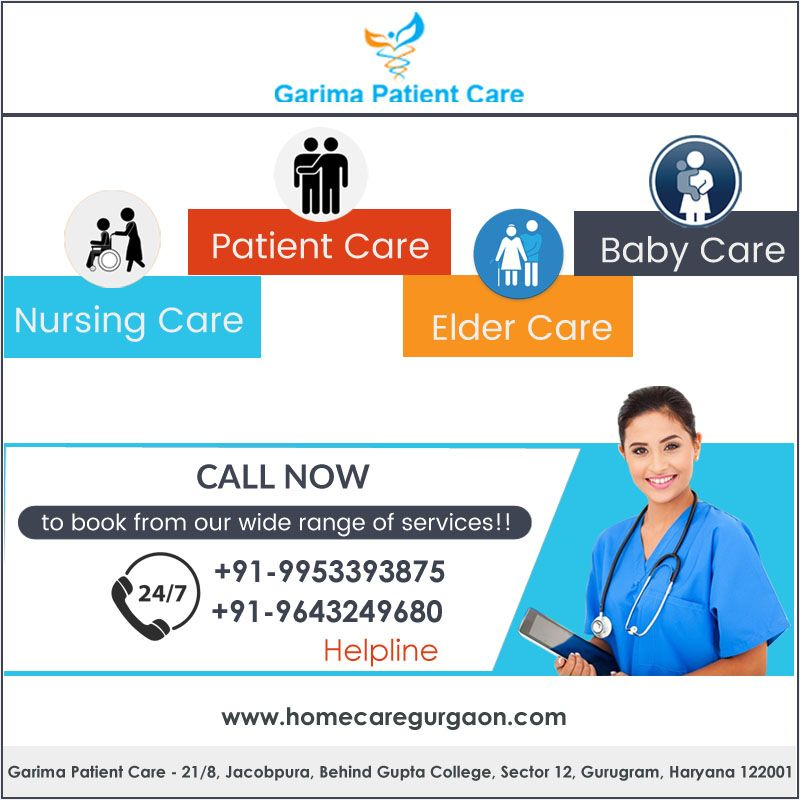 Garima Patient Care is one of the best home healthcare