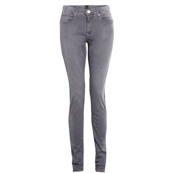 DAY Birger Et Mikkelsen Dove Grey Day Snipe Jeggings ($54) ❤ liked on Polyvore featuring pants, leggings, jeans, skinny jeggings, skinny fit pants, five pocket pants, skinny jean leggings and jeggings pants