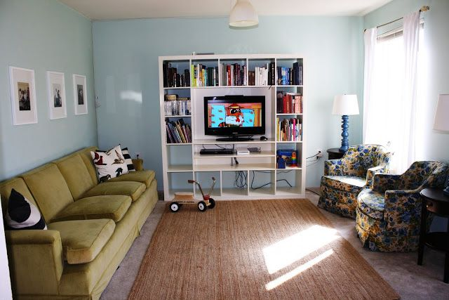 Ikea expedit tv stand for the living room use bottom - Toy storage furniture living room ...