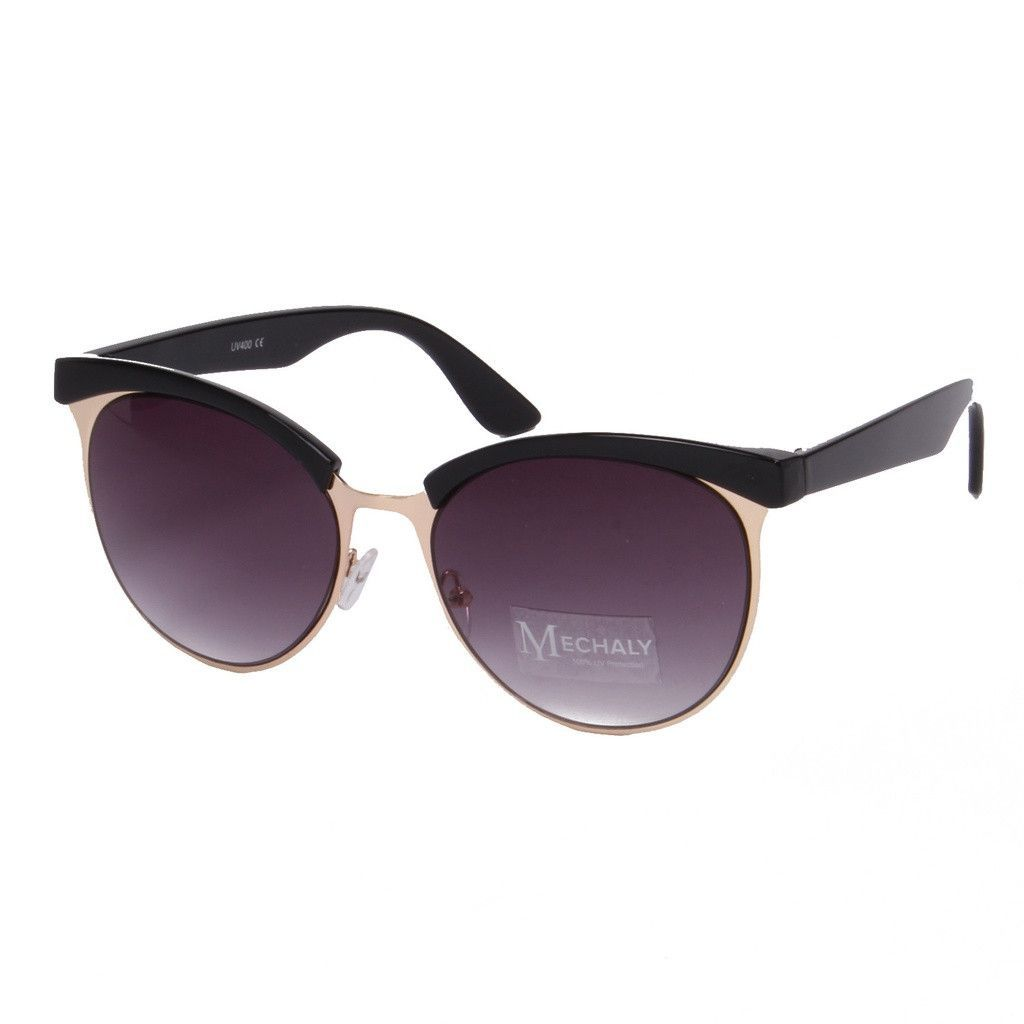 Cat Eye Style Black Sunglasses