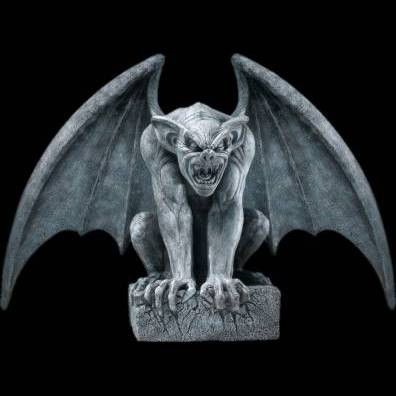 This gargoyle prop has great detail and an enormous for Gargoyle decor