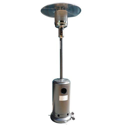 Propane Patio Heater Gilded Black 87 Portable With Cover By Heaters Unlimited
