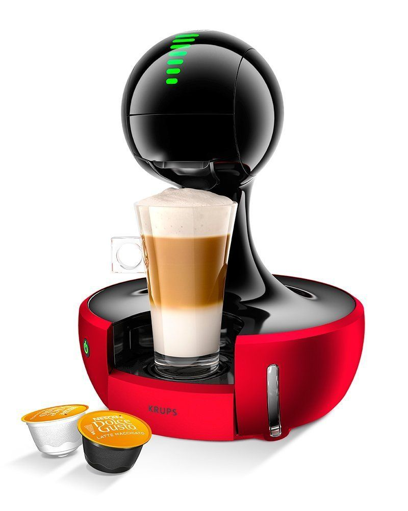 NESCAFÉ Dolce Gusto Drop Touch Red Coffee Machine by KRUPS