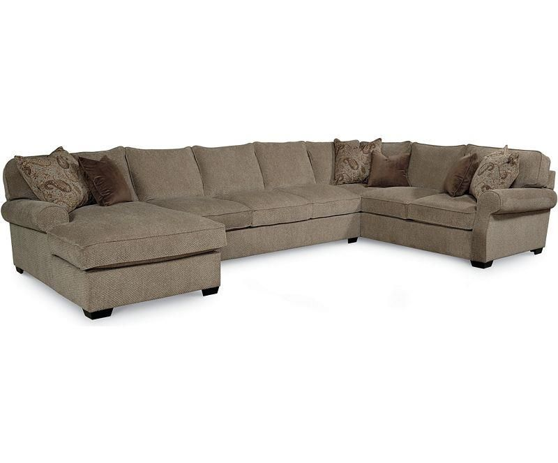 Lane Jonah Casual 3 Piece Sectional Sofa With Blend Down Seats   Sprintz  Furniture   Sofa Sectional Nashville, Franklin, Brentwood And Greater  Tennessee