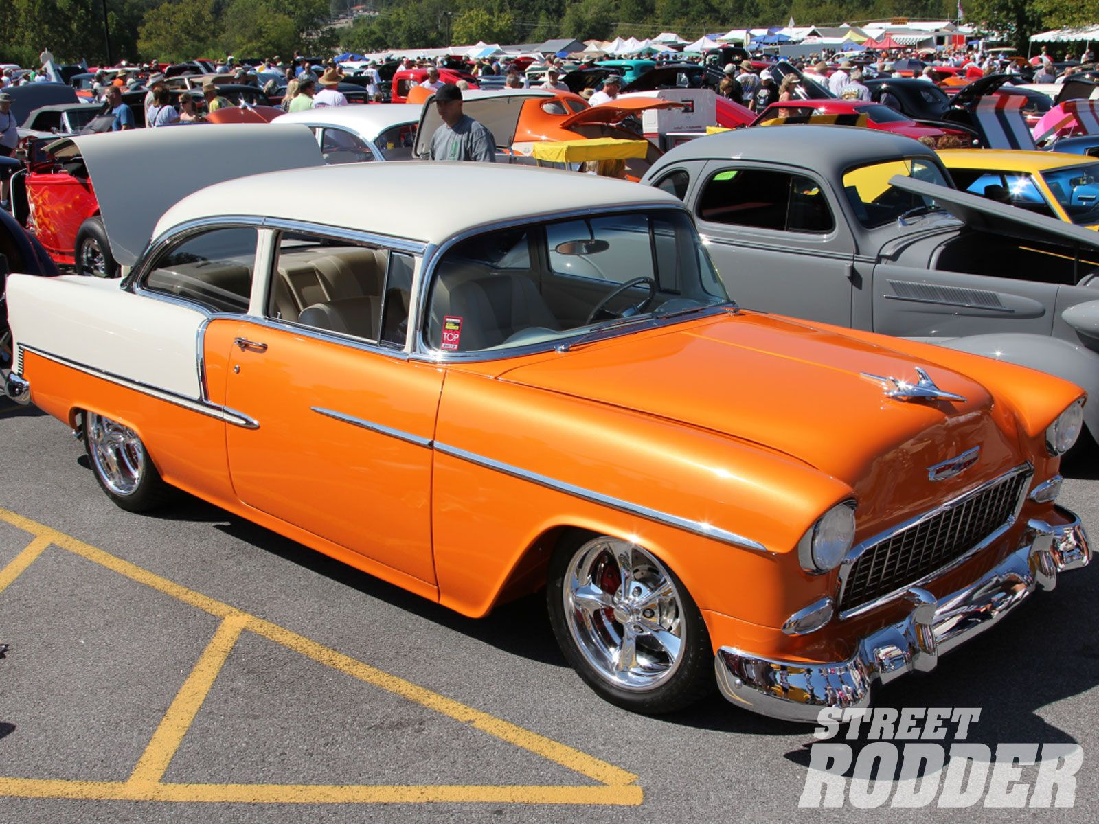 1955 chevy two-tone colors - Google Search