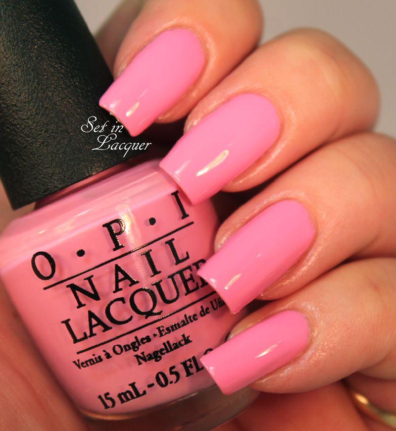 Flamingo Tini Pink Manicure Nail Polish Nails