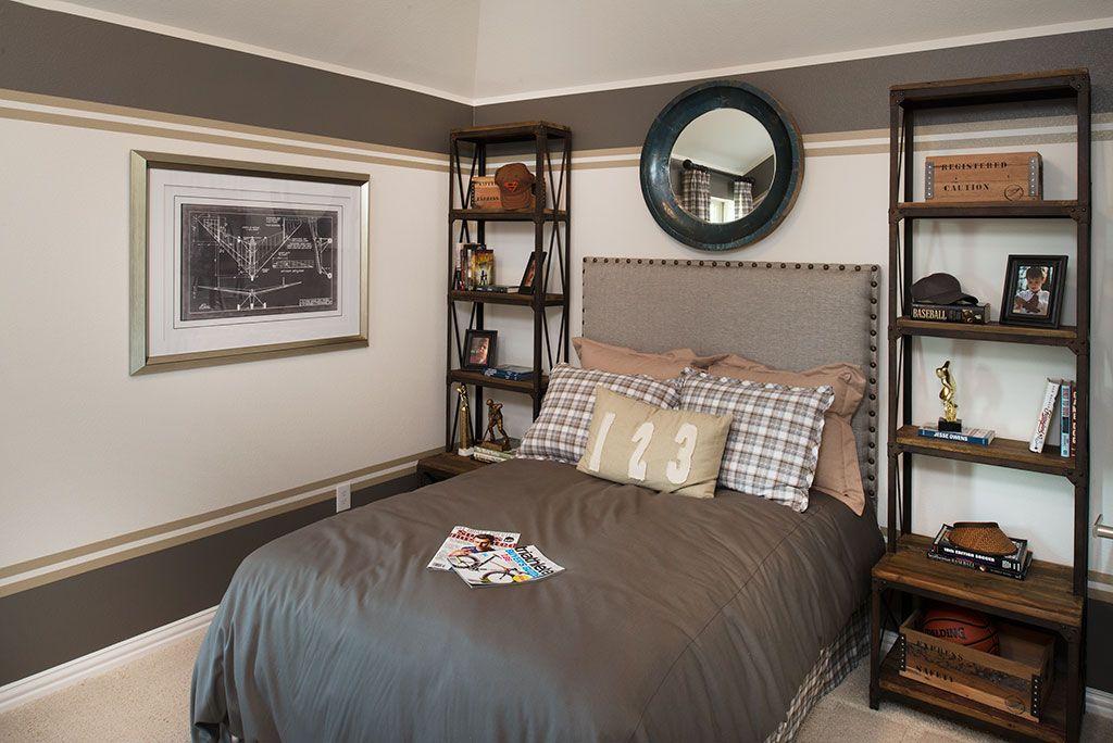 Highland Homes Bridges Of Las Colinas Bedroom Las