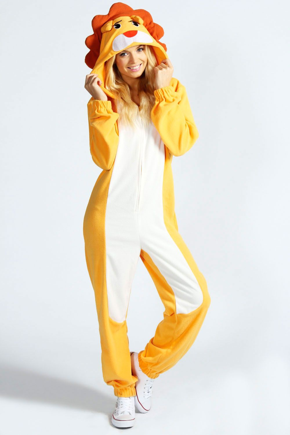 Lily Lion Animal Onesie at boohoo.com  8493a9821