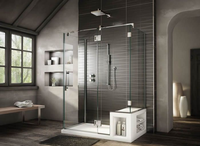 10 Fabulously Modern Shower Stalls With Seat Ideas With Images Bathroom Shower Design Bathroom Design Small Modern Minimalist Bathroom Design