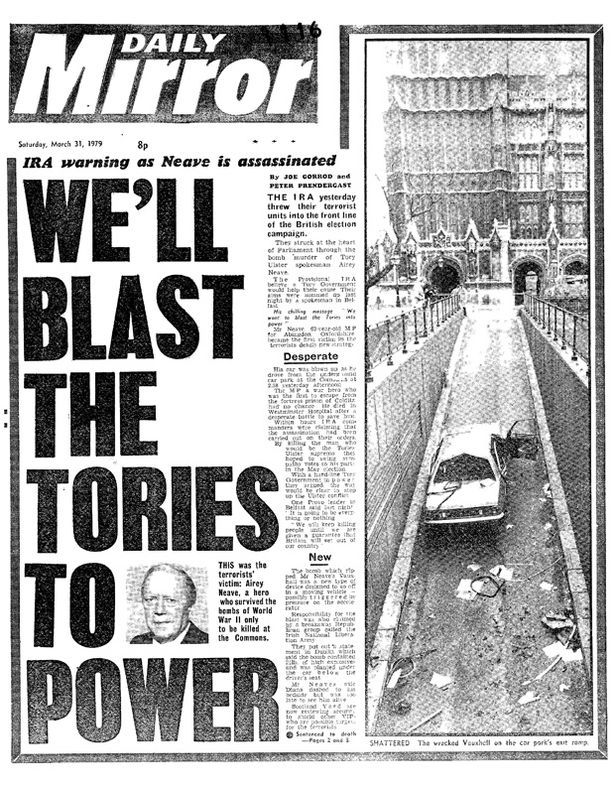 Image result for daily mirror 1970's Newspaper front pages