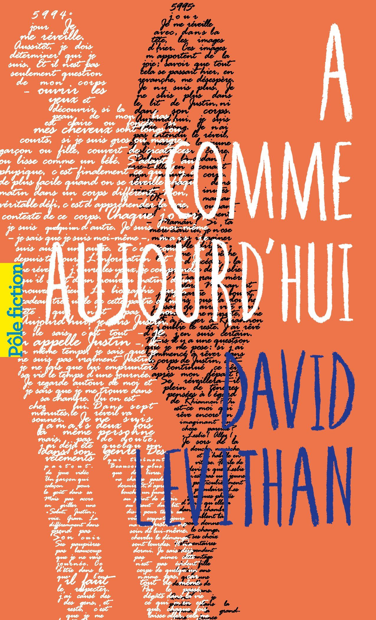 Amazon Fr A Comme Aujourd Hui David Levithan Simon