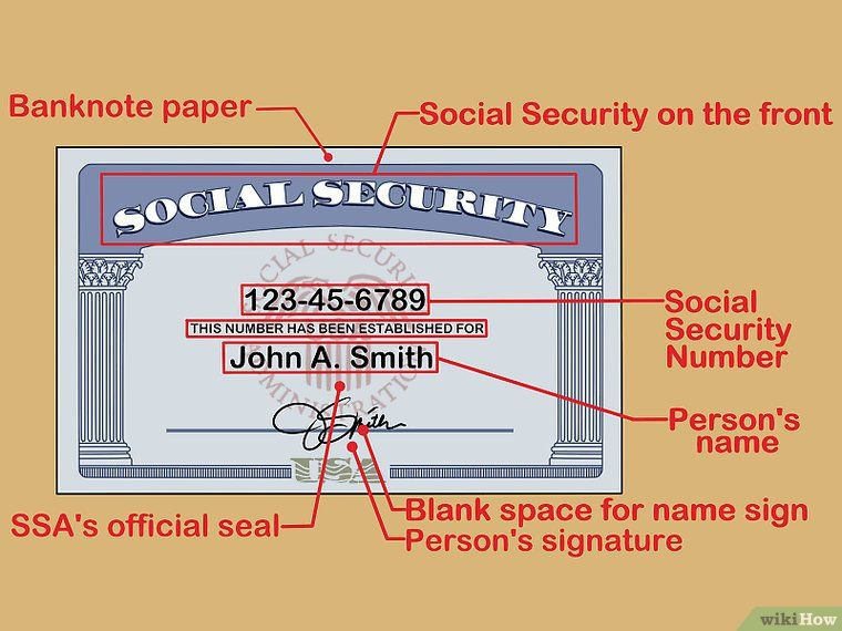 3 Ways To Spot A Fake Social Security Card Social Security Card Free Printable Business Cards Id Card Template
