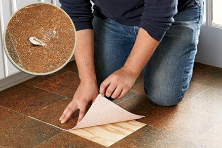 How to Patch a Vinyl Floor   Vinyl flooring, Vinyl ...