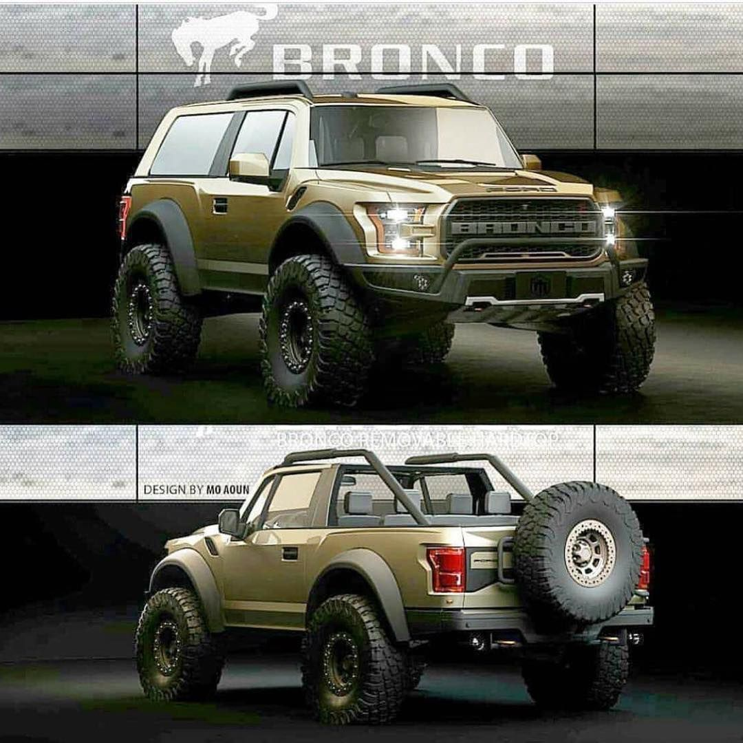 If this was the new Ford Bronco would you buy it? . Yes or ...