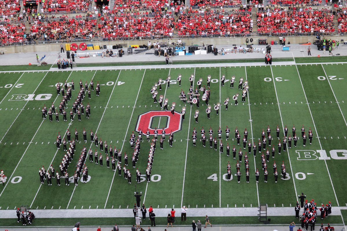 ohio state celebrates big announcement with nyc show | college