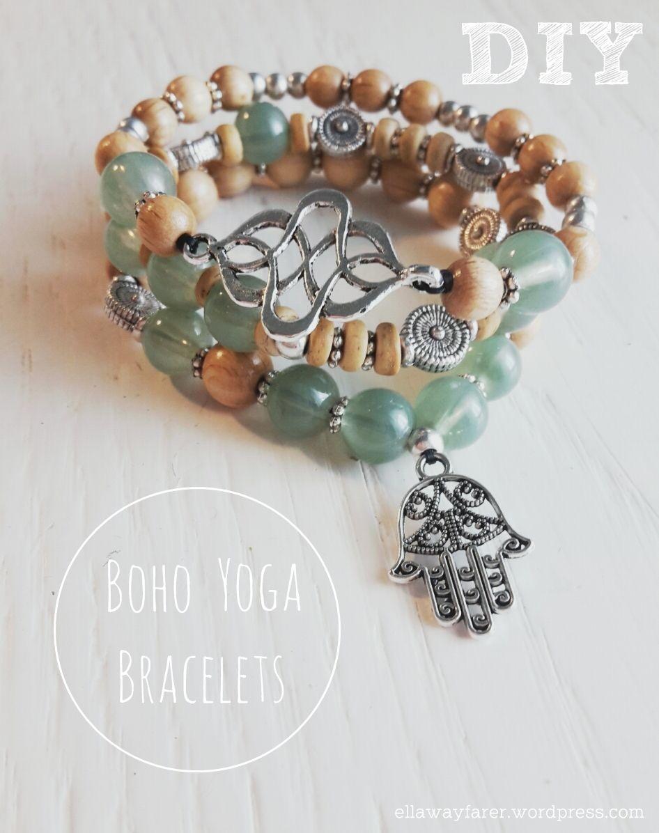 DIY: Boho Yoga Buddha Bracelets for the perfect hippie and bohemian style