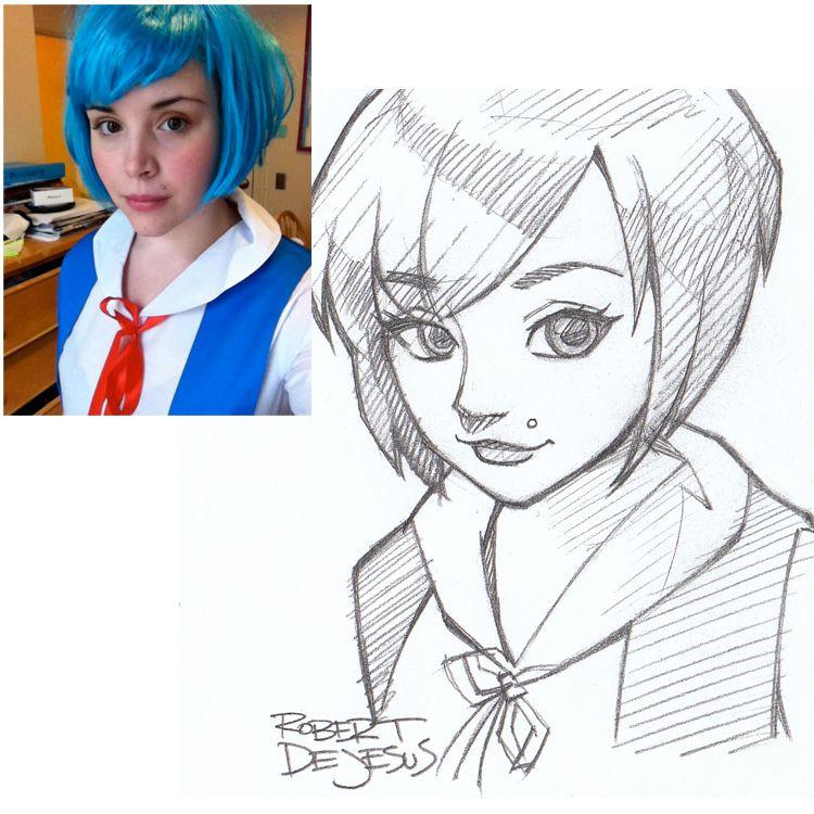 Anime Style Rei Ayanami By Banzchandeviantart On DeviantART