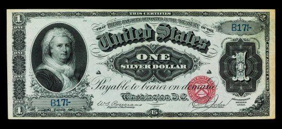 Women On Money Silver Certificate Dollar Bill Dollar