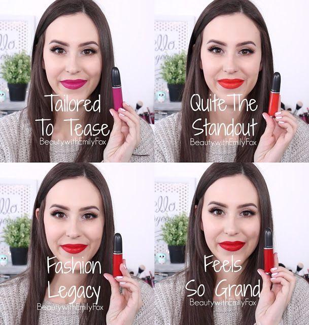 Mac Retro Matte Liquid Lipstick Collection Lip Swatches Mac Retro Matte Liquid Lipstick Mac Retro Matte Liquid Lip Color