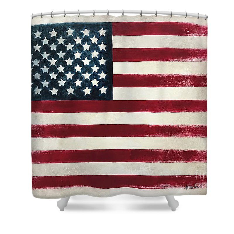 America Shower Curtain For Sale By Amy Parker Evans Curtains For