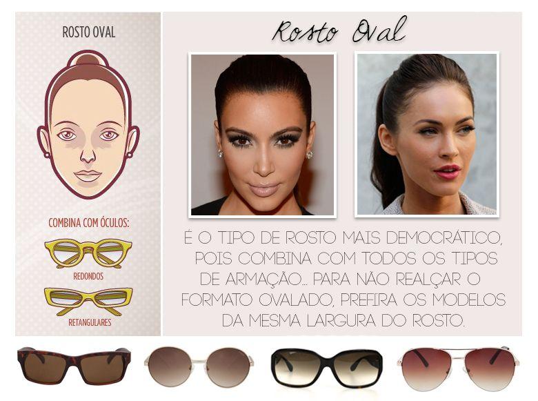 4b1ec1745a68c Consultoria de Imagem  óculos para rosto oval Formato De Rosto, Tipos De  Rosto,