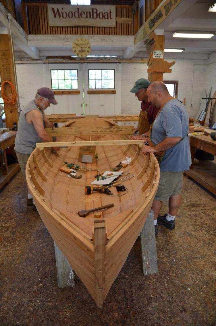 Wooden boat school - Brooklin Maine | Boatbuilding | Pinterest ...