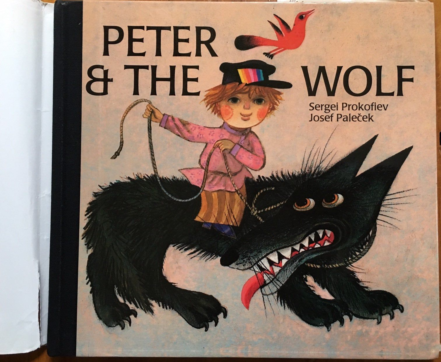 Peter and the Wolf, Sergei Prokofiev, illustrated by Josef