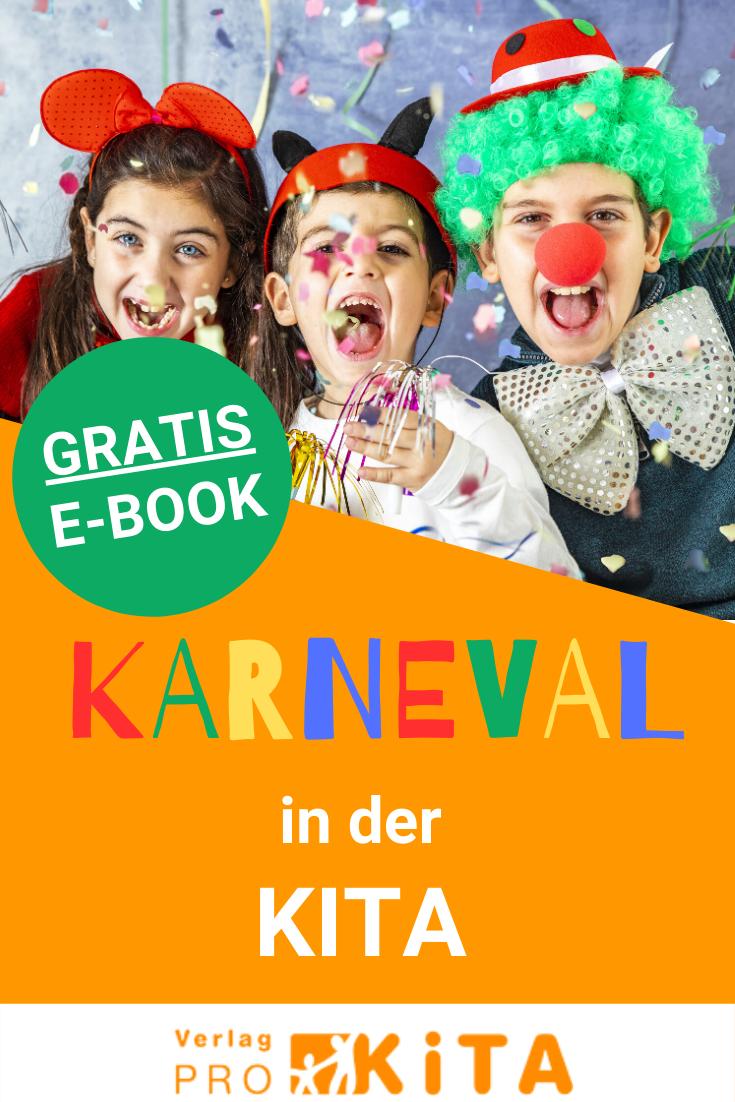 Gratis E-Book: Karneval in der Kita