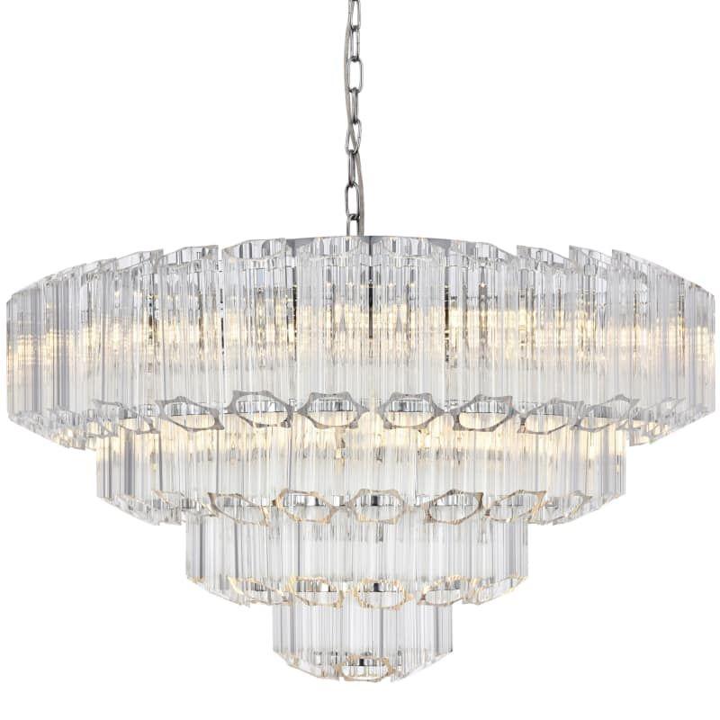 Elegant Lighting 1706d26 Riviera 9 Light 26 Wide Chandelier