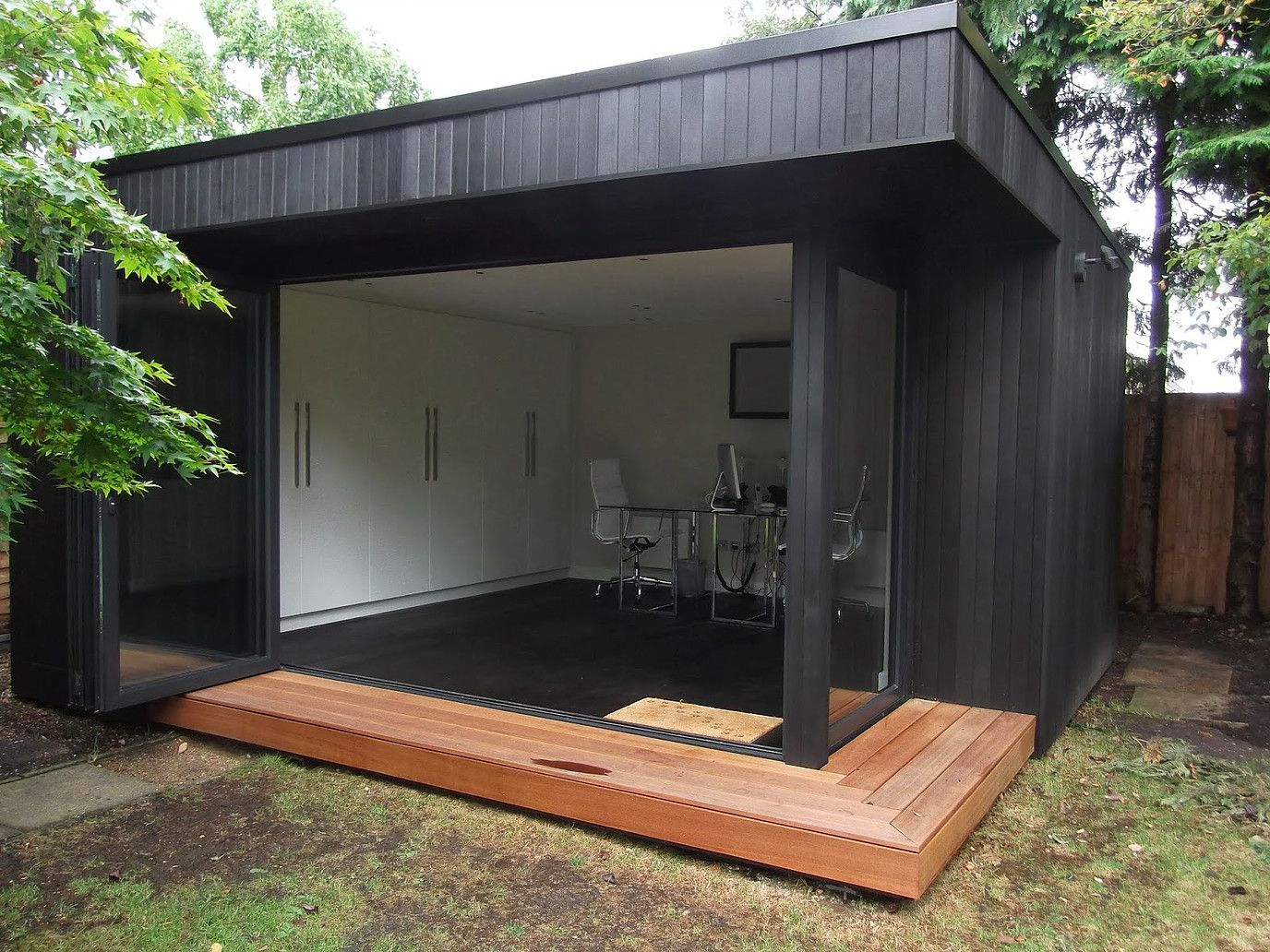 outdoor garden office. office in my garden we build outdoor rooms and offices portfolio n
