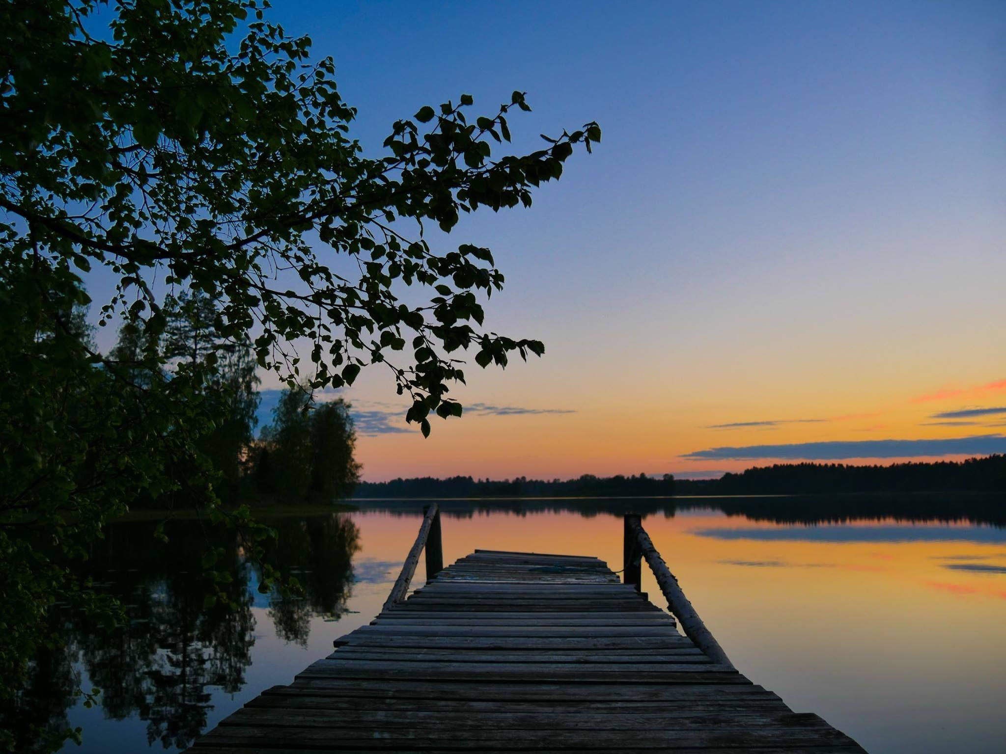 sonnenuntergang im schweden urlaub beim angeln am see nahe j nk ping sunset sweden. Black Bedroom Furniture Sets. Home Design Ideas