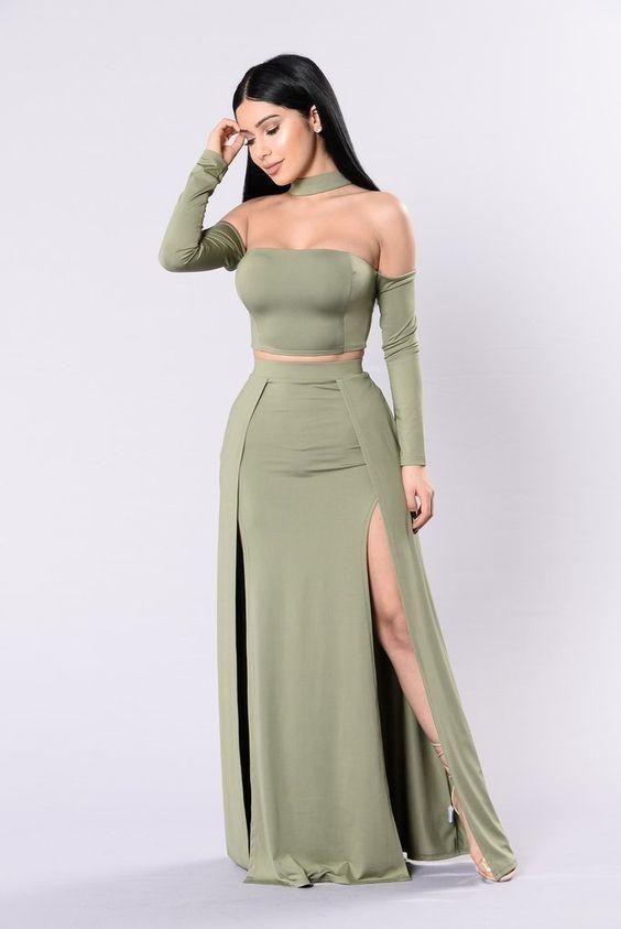 Off The Shoulder Long Green Prom Dress Evening Dress 2018 Fashion Nova Dress Fashion Nova Outfits Green Prom Dress Long