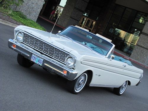 1964 Ford Falcon Sprint Convertible V8 West Coast Rare Clean Solid