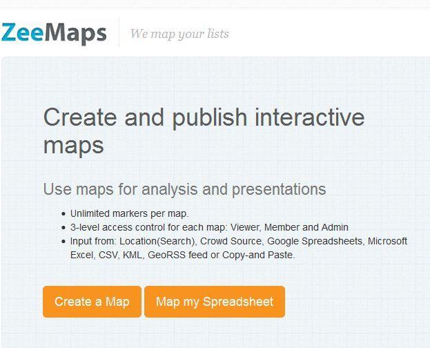 ZEEMAPS Mapas personalizados Este lo creó Cristina Díaz