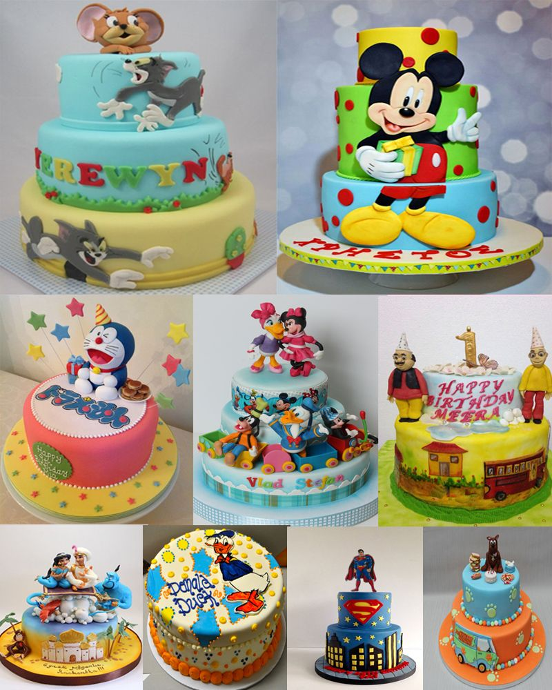 Celebrating Your Kids Birthday Here Are The Best Cartoon Theme Cake
