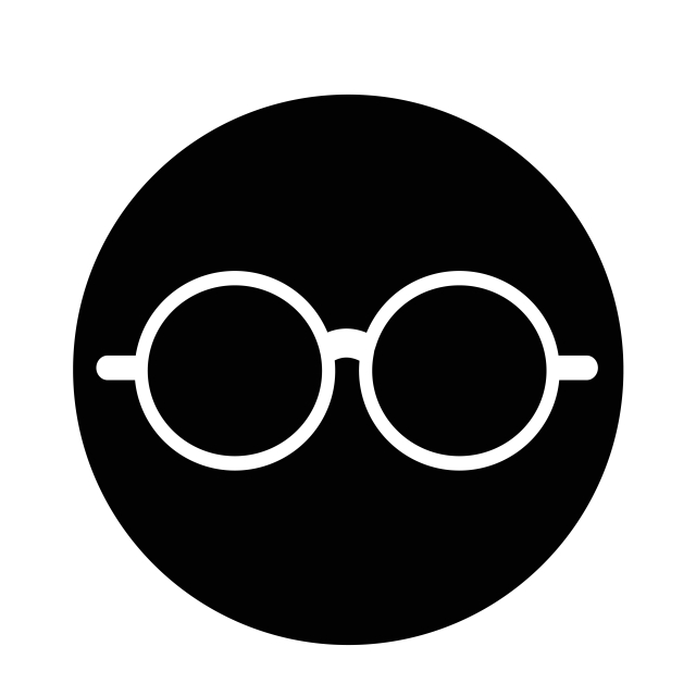 Glasses Icon Vector And Png Free Vector Illustration Vector Pop Icon