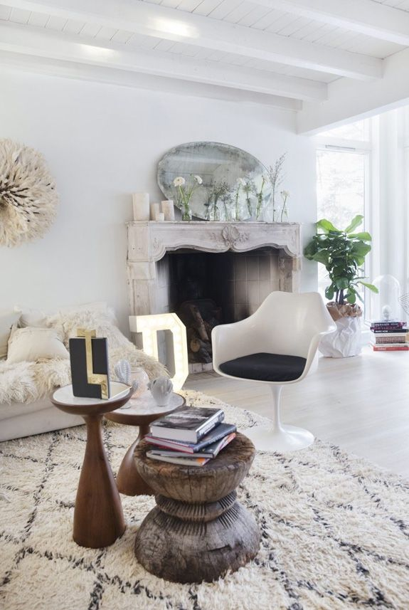 via desire to inspire Atelier Doré Interiors Pinterest Wohn - Kuhfell Teppich Wohnzimmer