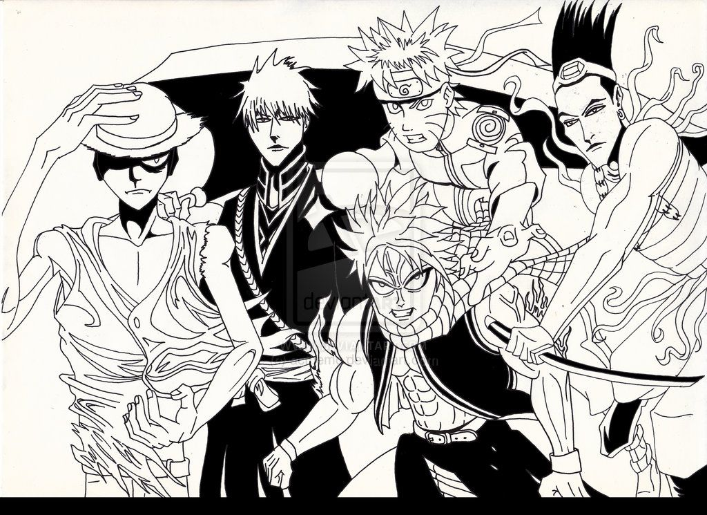 One Piece Naruto Bleach Fairy Tail Read High Quality Bleach Manga on ...