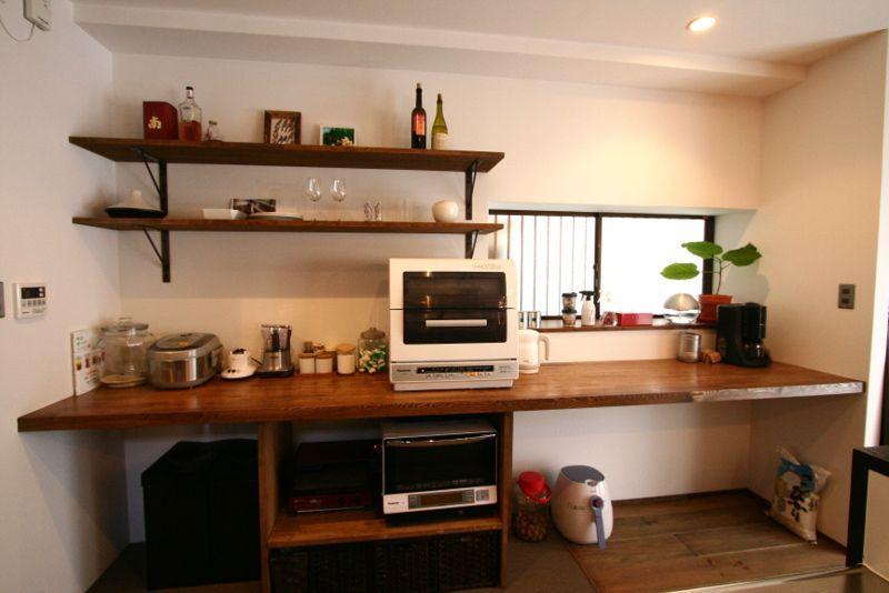 入居後撮影キッチン8 キッチン棚 Diy キッチン 背面収納 キッチン
