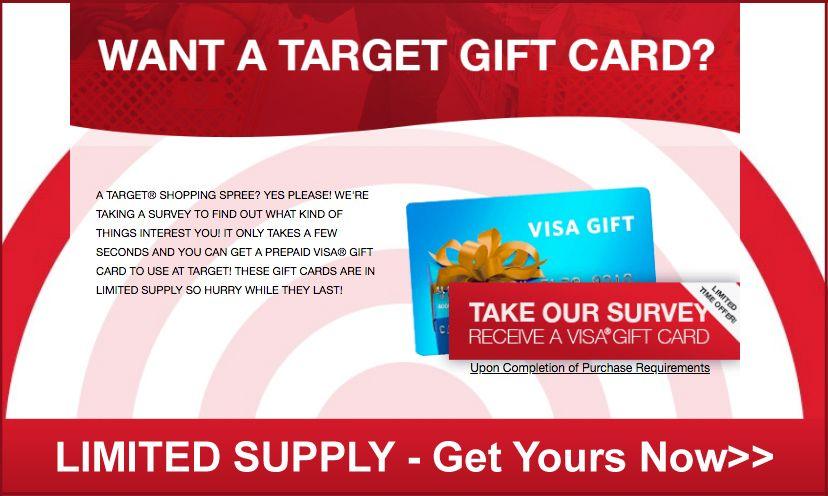 Best offer for gift crad target gift cards free target