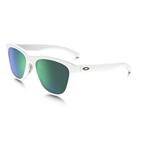 dac0bc6be83 Oakley Womens Moonlighter Polarized Sunglasses Polished WhiteJade Iridium      Click on the image for additional details.