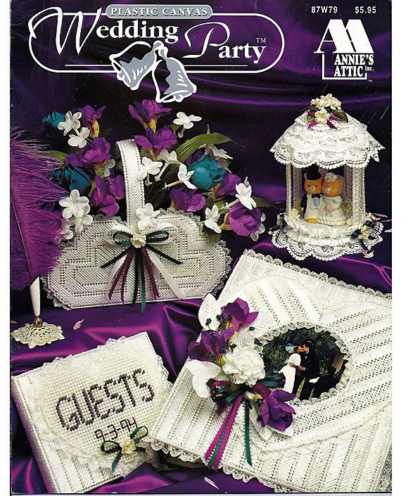 Wedding Party Plastic Canvas Pattern Book Annies Attic