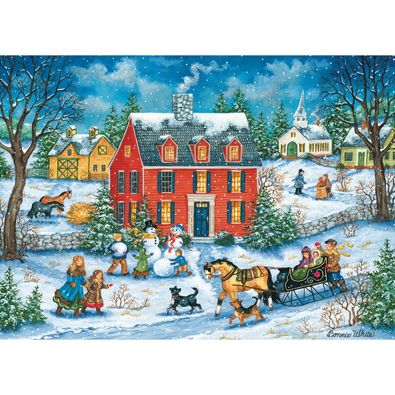 Hitching A Ride 1000 Piece Jigsaw Puzzle Favorite Jigsaw Puzzles