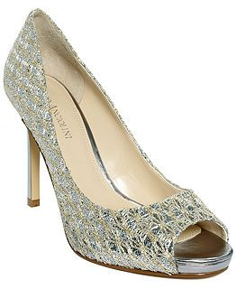 46f5dbc80729 silver sparkle heels The Maiven pumps by Enzo Angiolini 2013