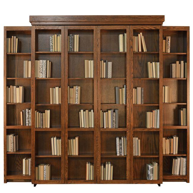 bifold bookcase wall bed | stuart david furniture | wellington