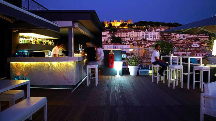 Mundial Hotel Lisbon Rooftop Bar