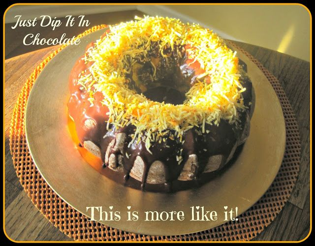 Lemon Blackberry Bundt Cake, in theory