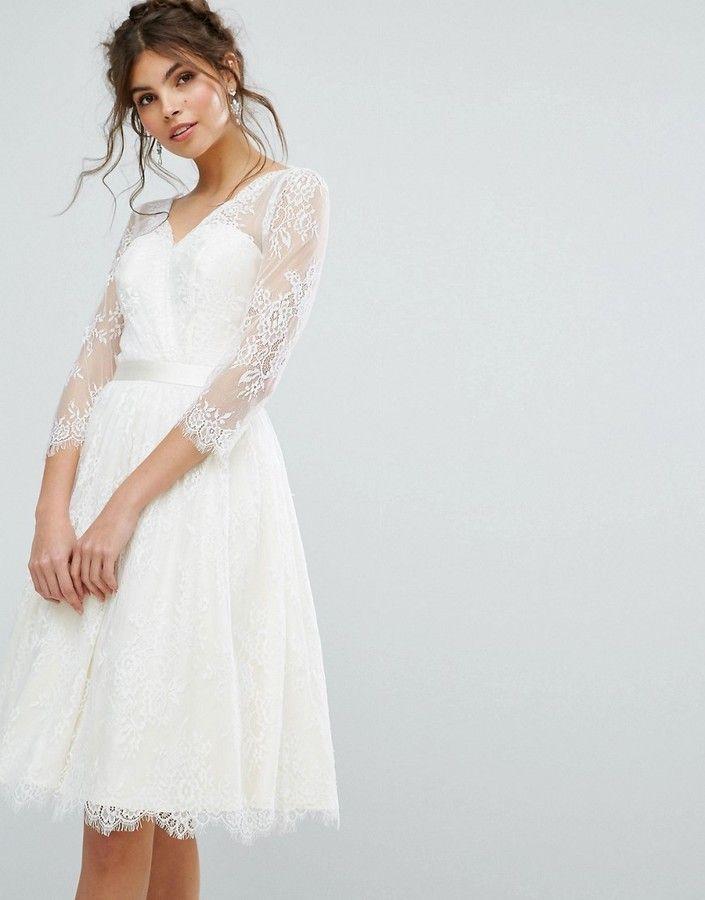 Großartig Brautjungfer Kleid Mit Spitzen Overlay Zeitgenössisch ...
